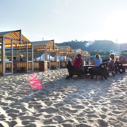 Beach Bar: Koktejly a hudba