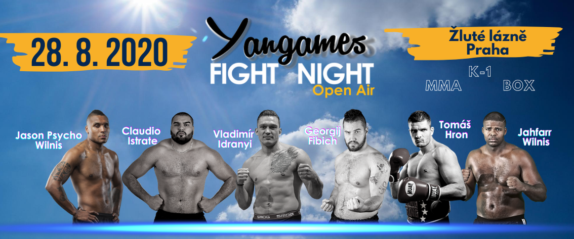 Yangames Fight Night 8 Open Air